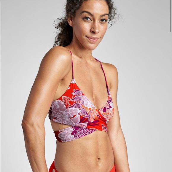 0e3638710cddc Athleta Swim | Nwt Wrap Bikini Top | Poshmark